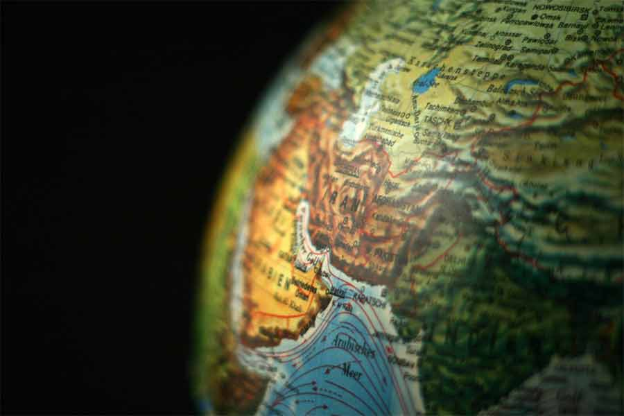 iran globe