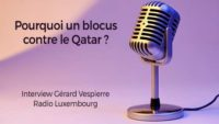 interview Gérard Vespierre - Radio Luxembourg - Qatar
