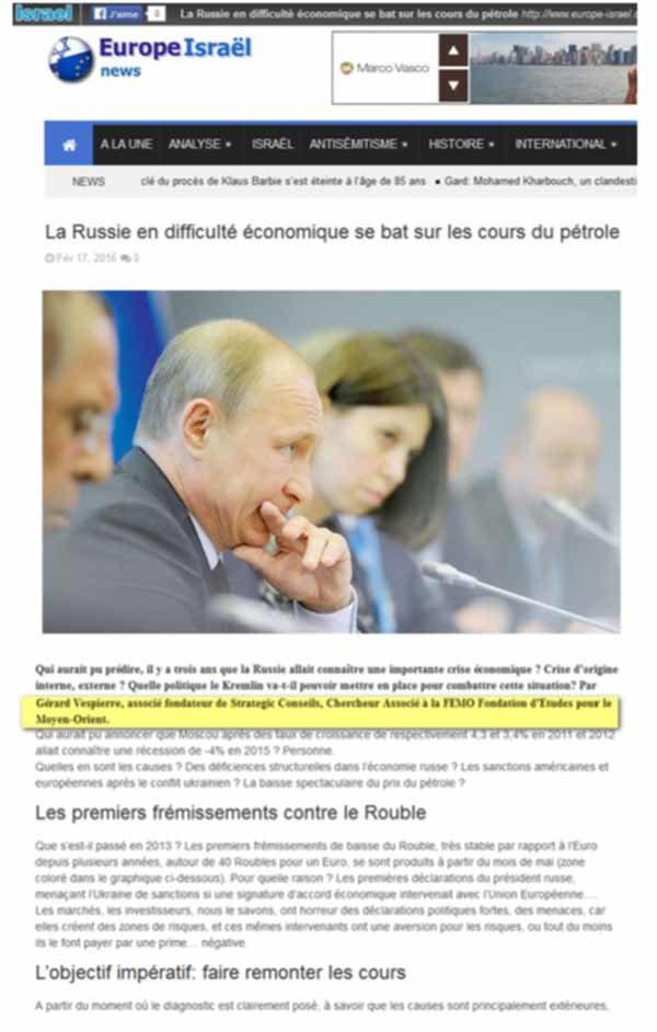 reprise article Gérard Vespierre Géopolitique 2016