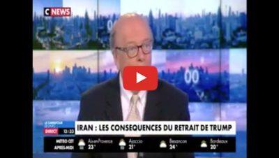 L'Iran, Israël, et les européens - CNews - Gérard Vespierre