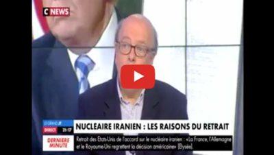 Iran et négociation nucléaires - CNews - Gérard Vespierre