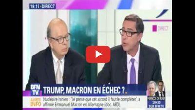 L'Iran entre Trump et Macron - BFM TV - Gérard Vespierre
