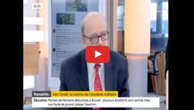 Israël, l'Iran et la Russie - Gérard Vespierre - France Info
