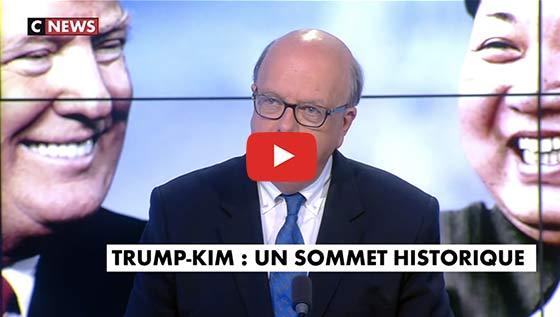 Débat Trump et Kil Jong Un