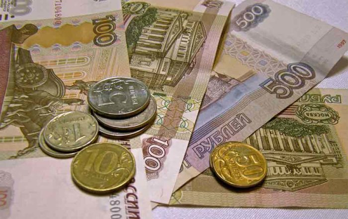 Russie, bataille du rouble