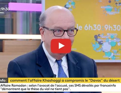 L'affaire Khashoggi – France Info