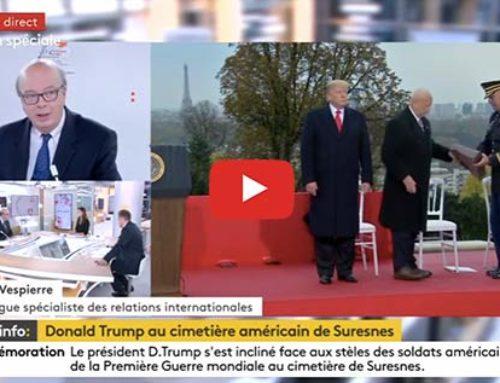 Table ronde sommet de la paix – France Info