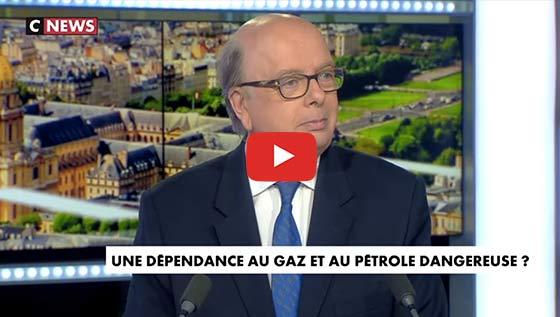 Algérie : Pétrole et crise économique interview cnews G. Vespierres