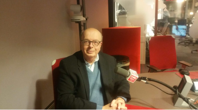 Interview radio RFI