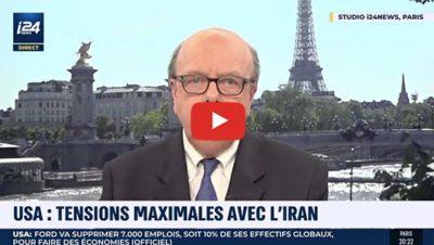 Interview i24News Gérard Vespierre