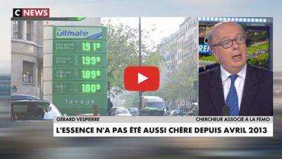 prix des carburant en mai 2019