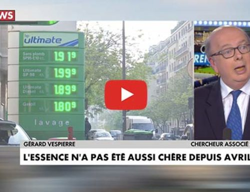 Prix du Pétrole, prix des carburants – CNews