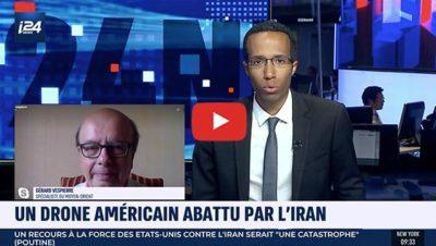 Desctruction d'un drone américain par l'Iran