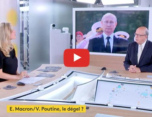 Rencontre Macron Poutine – France Info