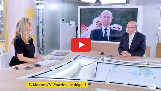 Rencontre Macron Poutine 2019