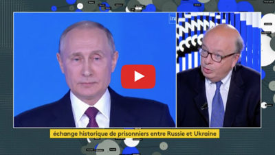 Echange de prisonnier Ukraine et Russie