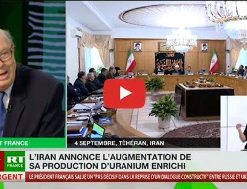 Les nouvelles décisions iraniennes – RT Russia Today