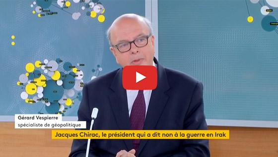 Chirac a dit non à la guerre en Irak