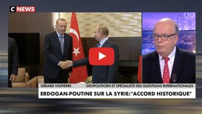 Erdogan et Poutine pour la Syrie