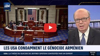 Les USA condamnent le génocide arménien