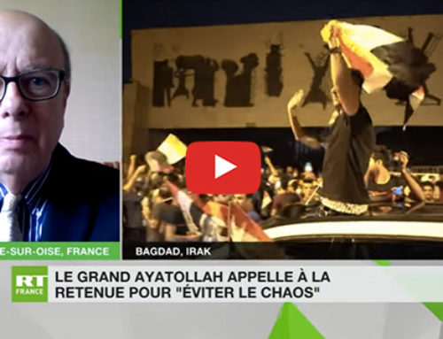 La situation en Irak – RT France