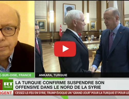 Cessez-le-feu entre Kurdes et Turcs – RT France