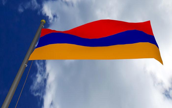 Drapeau de l'Armenie