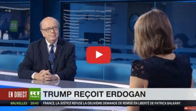 Trump reçoit Erdogan