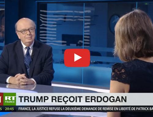 Trump reçoit Erdogan – RT France