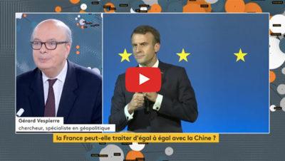visite d'Emmanuel Macron en Chine