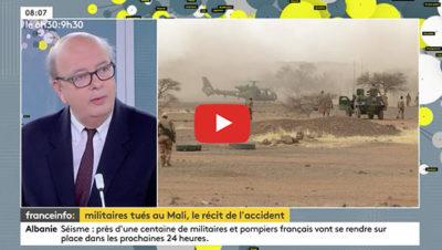 Operation Barkhane, crash d'hélicoptères