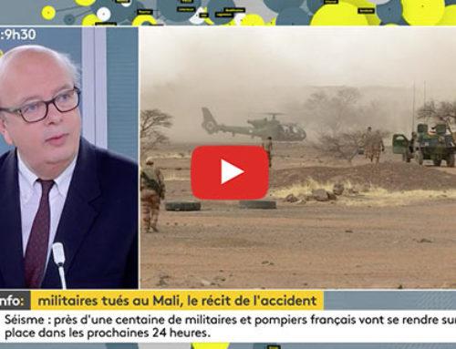 Operation Barkhane, crash d'hélicoptères – France Info