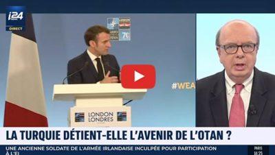 Sommet de l'Otan 2019 conférence d'Emmanuel Macron