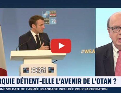 Sommet de l'OTAN Conférence d'Emmanuel Macron – i24News