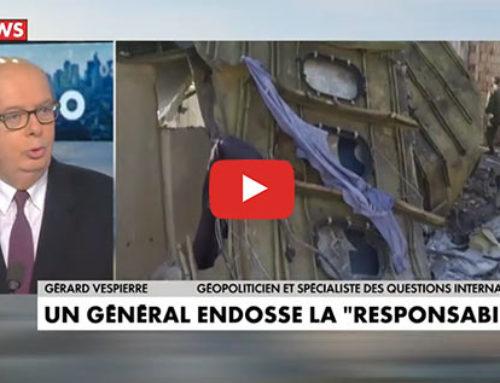 Conséquences iraniennes de la destruction de l'avion ukrainien – CNews