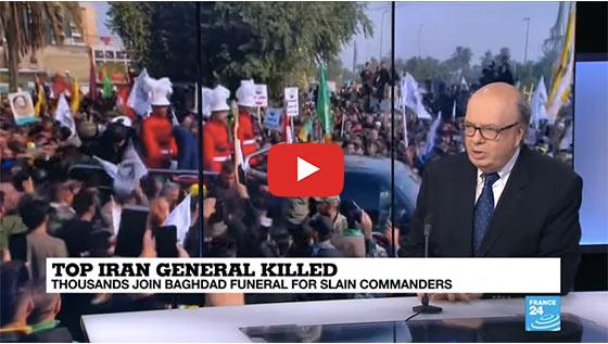 Top iran general killed