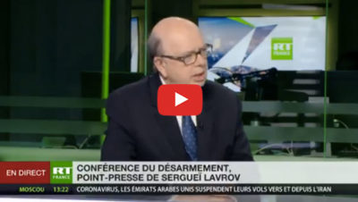 Discours Lavrov