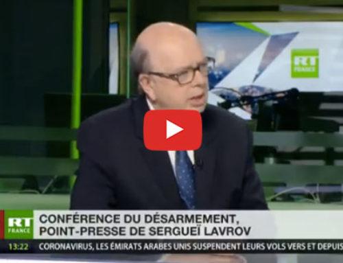 Discours de Sergueï Lavrov – RT France
