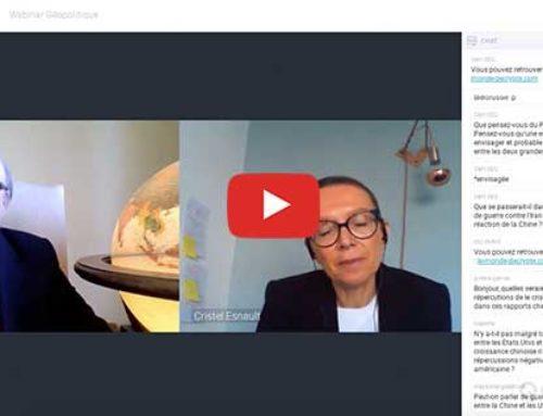 Le choc Chine, Etats-Unis – Vidéo-conférence ISC Paris