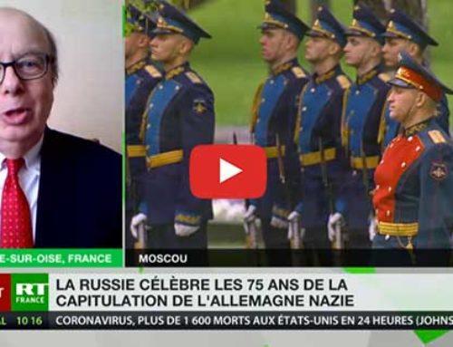 75ème anniversaire de la victoire – 2ème guerre mondiale – RT France