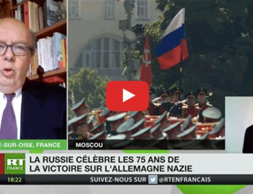Russie : commémoration de la victoire sur l'Allemagne nazie – RT France