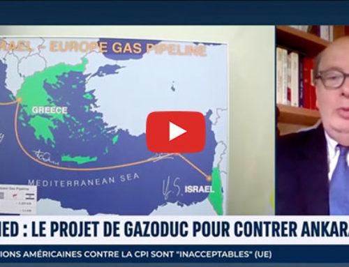 EastMed, le projet de gazoduc pour contrer Ankara – i24News