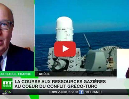 Crise gréco-turque : l'analyse de Gérard Vespierre – RT France