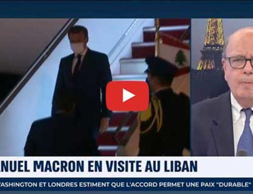 Emmanuel Macron en visite au Liban – i24News