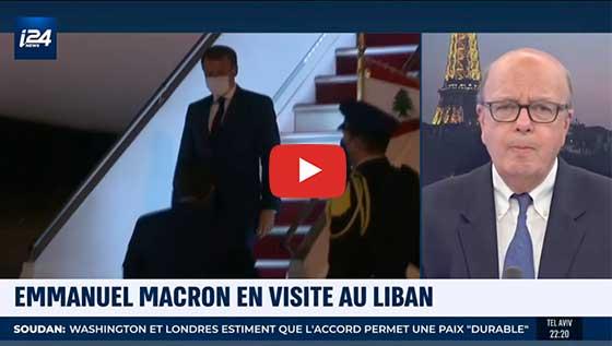 2ème visite de E. Macron au Liban en un mois