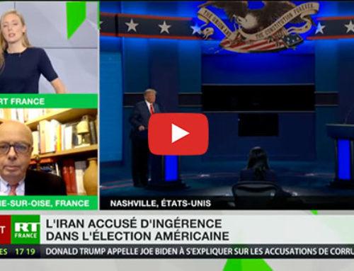 Iran et Russie accusés d'ingérence par les USA – RT France