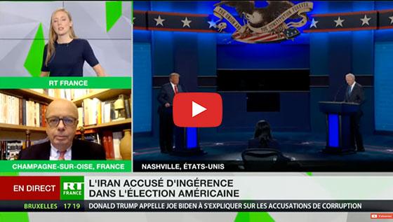 Le directeur du renseignement américain a accusé la Russie et l'Iran d'avoir mis la main sur les données de certains électeurs américains afin de les influencer