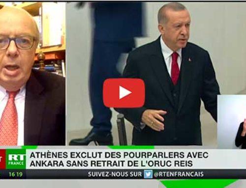 Méditerranée : «Erdogan joue un jeu très difficile» – RT France