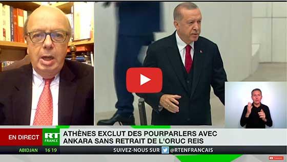 Tensions entre la Turquie et la Grèce