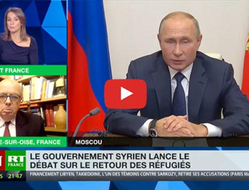 Retour des réfugiés syriens : «La situation est en trois volets : social, économique, et politique» – RT France
